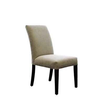 Pierson Upholstered Dining Chair Braxton Culler Upholstery Color: Light Beige Textured Plain; 0863-93, Leg Color: Driftwood