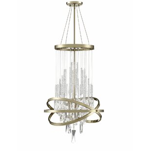 Culbreath 6-Light Crystal Chandelier by M..