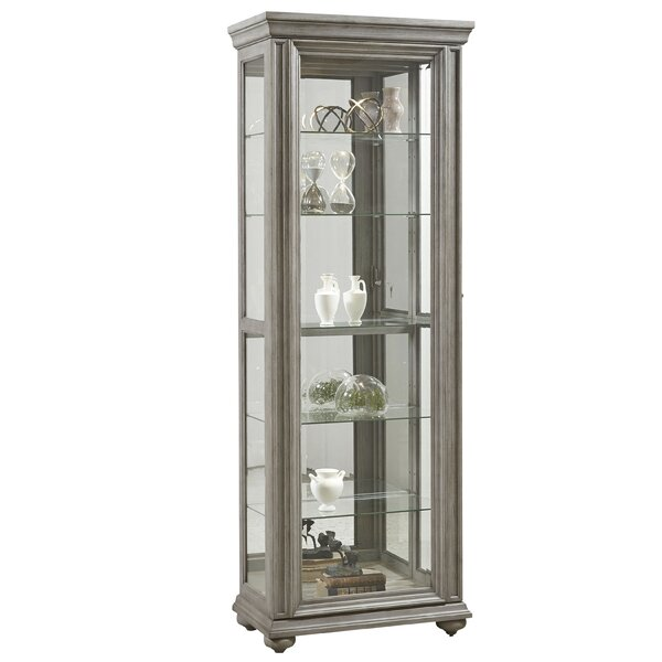 Curio Display Cabinets Birch Lane Simple Lighted Display Stand For Glass Art