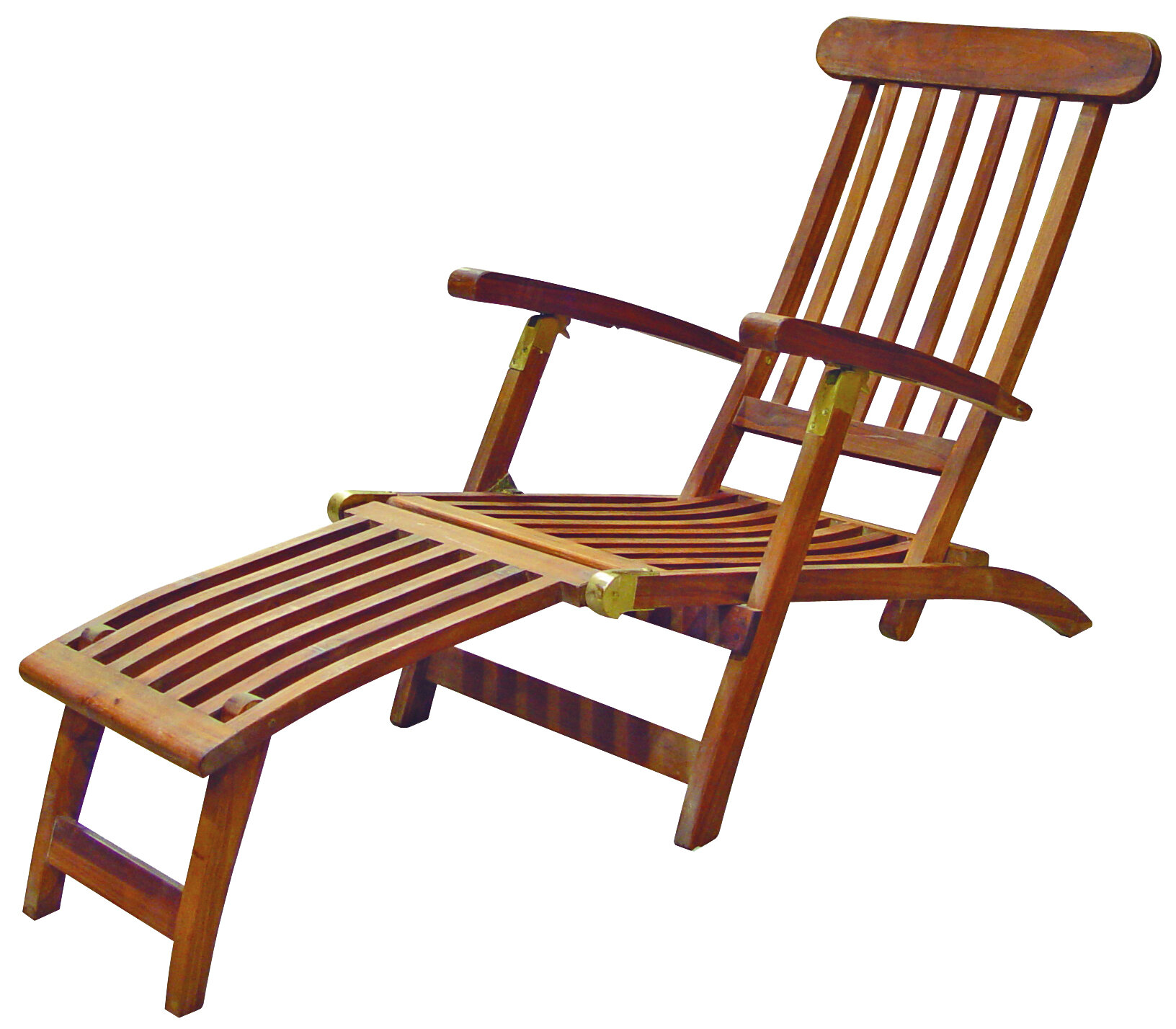 SeaTeak Britannia Folding Steamer Lounge Chair & Reviews