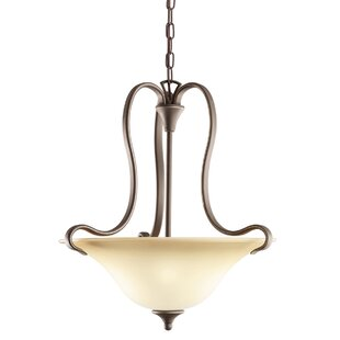 Alcott Hill Barile 2-Light Bowl Pendant