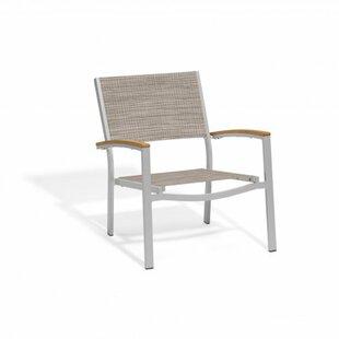 Laskowski Chat Patio Chair (Set of 2)