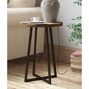 Great Price Tisbury Rustic Wood End Table By Union Rustic