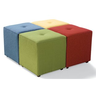 Strange Irving Bunching Tufted Cube Ottoman Gmtry Best Dining Table And Chair Ideas Images Gmtryco