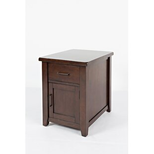 Hickey Drawer End Table With Storage By Alcott Hill