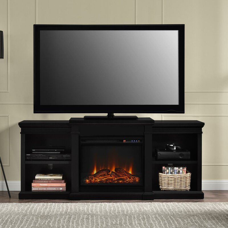 Fireplace Design entertainment center with fireplace : Darby Home Co Stowe 65