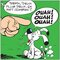 Ouah ! Ouah ! Ouah ! by Uderzo Graphic Art on Canvas