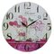 34cm Flowers and Home Wall Clock