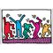 'Senza Titolo' by Haring Graphic Art Plaque