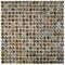 "Arcadia 0.563"" x 0.563"" Porcelain Mosaic Tile in Noce Slate"