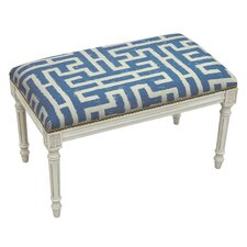 Adan Upholstered and Wood Bench by Mistana
