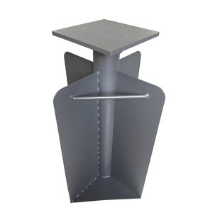 Steel In-Ground Parasol Base By Freeport Park
