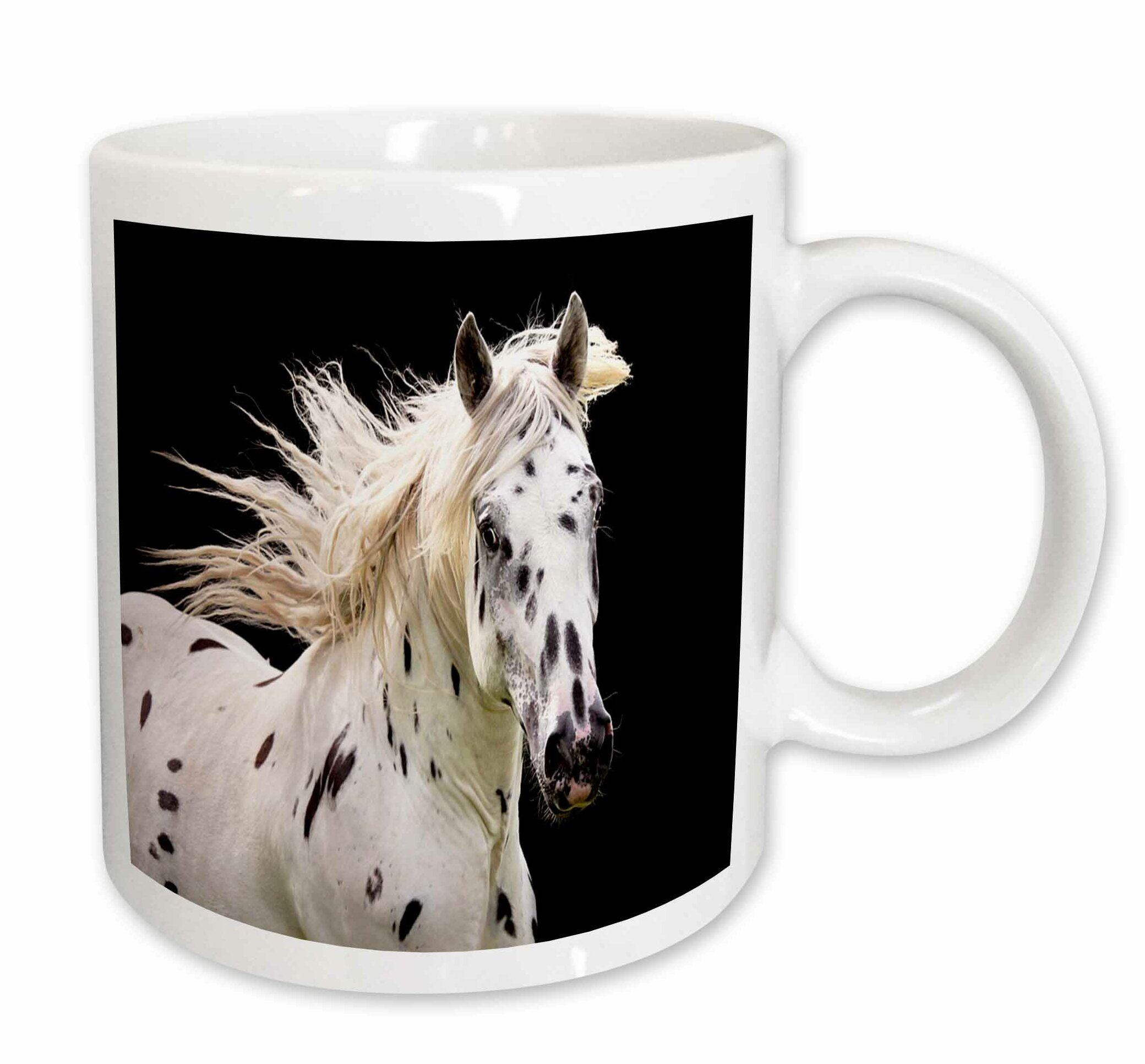 East Urban Home Beautiful Appaloosa Horse Coffee Mug