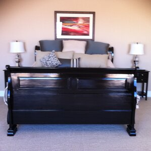 Queen Sleigh Bed by Chic Teak