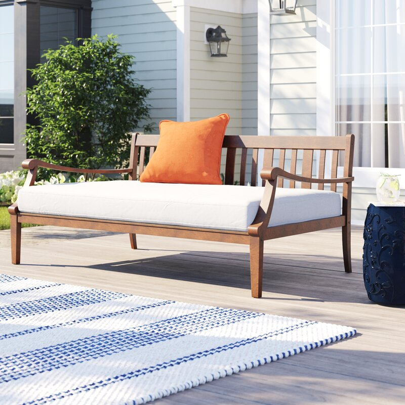 Dowling Patio Daybed with Cushion