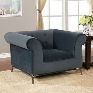 Aparicio Chesterfield Chair by Everly Quinn SKU:CD784231 Shop