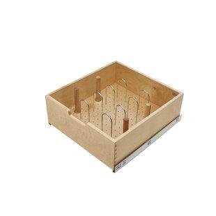 Pilaster System H x 22.31 W x 21.62 D Door-Drawer Organizer by Rev-A-Shelf