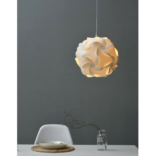 1-Light Pendant Light by California Lighting