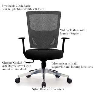 Mehl Mesh Task Chair by Ebern Designs Cool