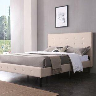Lind Upholstered Platform Bed by Ebern Designs