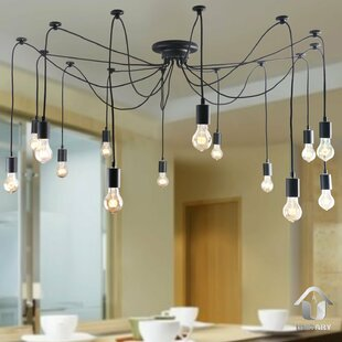14-Light Cluster Pendant by Unitary