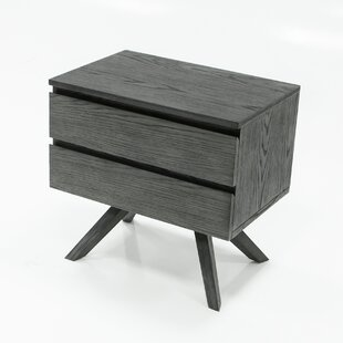 Kern 2 Drawer Nightstand