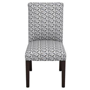 Venne Ink Parsons Chair by Brayden Studio