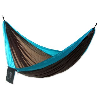 Nylon Camping Hammock by Novica