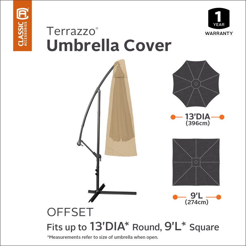 Singer Offset Umbrella Canopy Cover