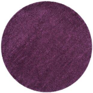 Malina Power Loomed Purple Area Rug by Willa Arlo Interiors