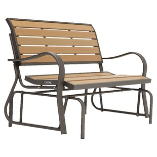 Review Plastic Glider Bench