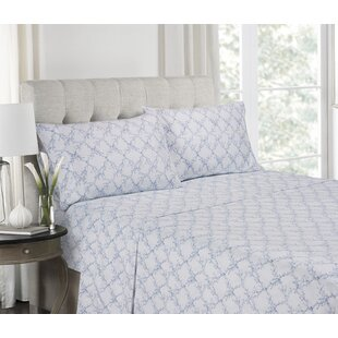 Affordable Fredericks Super Soft Printed Microfiber Sheet Set By Highland Dunes