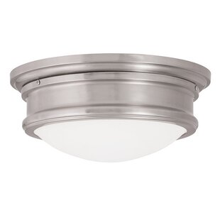 Rand 1-Light Flush Mount by Latitude Run
