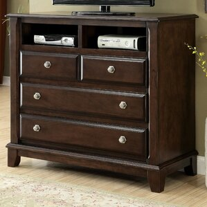 Daleville 4 Drawer Media Chest by Darb..