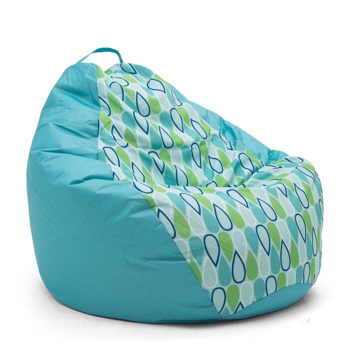 Groovy Big Joe Outdoor Teardrop Geo Drop Large Bean Bag Chair Inzonedesignstudio Interior Chair Design Inzonedesignstudiocom