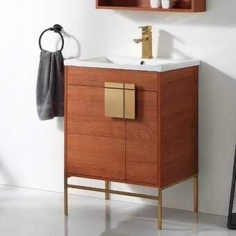 Winston Porter Eila 37 Single Bathroom Vanity Set Reviews Wayfair