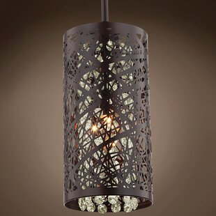 Mercer41 Hodder 1-Light Cylinder Pendant