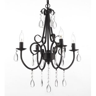 Knarr 4-Light Candle Style Chandelier by Astoria Grand