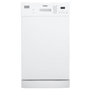 18 52 dBA Built-in Full Console Dishwasher by Danby