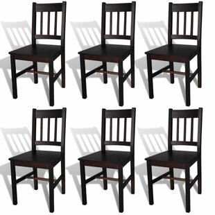 Tayler Solid Wood Dining Chair (Set of 6) Alcott Hill