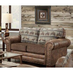 Deer Lodge Loveseat by American Furniture Classics