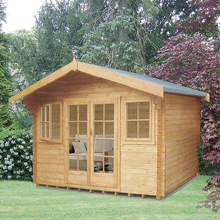 Askerby 14 X 16 Ft. Tongue And Groove Log Cabin Image