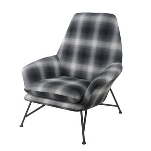 Bryant Plaid Armchair by Union Rustic