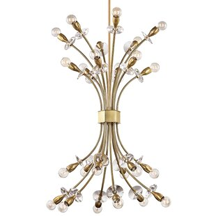 Mercer41 Penryn 24-Light Sputnik Chandelier