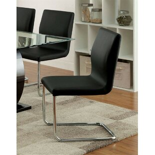 Futon Upholstered Dining Chair (Set of 2)