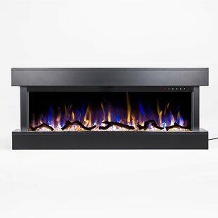 Orren Ellis Bland Wall Mounted Electric Fireplace