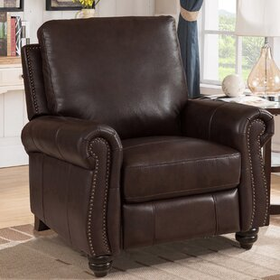 Adriano Leather Manual Recliner