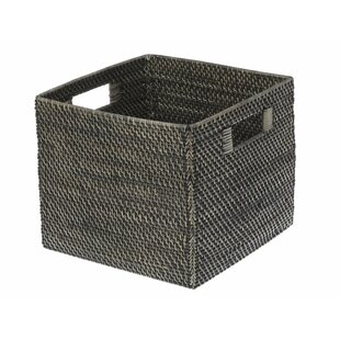 Rattan Storage Basket  sc 1 st  Wayfair & Round Woven Storage Baskets | Wayfair