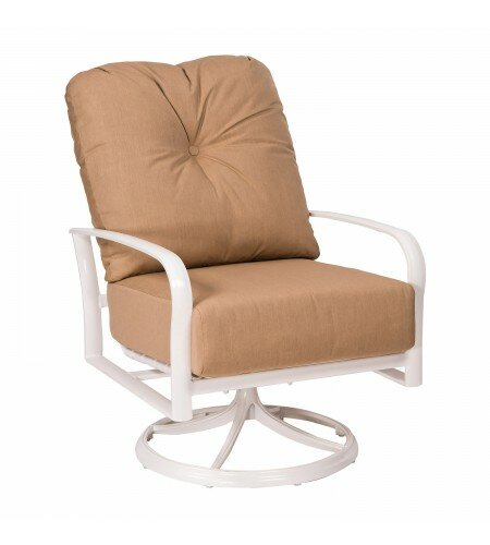 Woodard Fremont Swivel Rocking Patio Chair With Cushions Wayfair