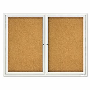 Double Enclosed Bulletin Board, 3' H x 4' W by Quartet?